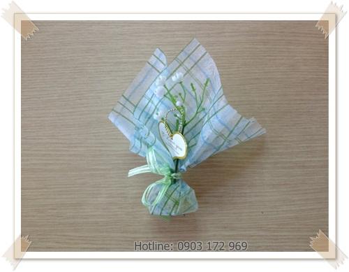 Quà tặng handmade từ phôi xà phòng bọc giấy