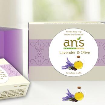 Xà phòng thiên nhiên Lavender và Olive