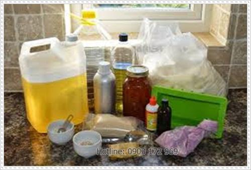 Nguyên liệu cho xà phòng handmade