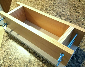Khuôn gỗ làm xà phòng handmade