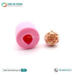 Khuôn Silicon Xà Phòng/Nến 3D Hình Nụ Hoa Mẫu Đơn Làm Quà Cưới (3D Peony Flower Silicone Candle Soap Mold)