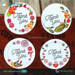 Bộ Sticker Chữ Thank You