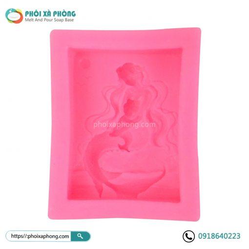 Khuôn Silicon 3D Hình Nàng Tiên Cá Baby (80gram)