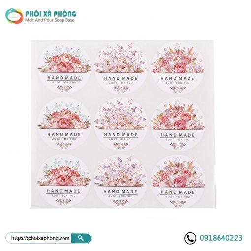 Bộ Sticker Handmade