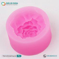 Khuôn Silicon Cẩm Chướng 3D 6.5cm
