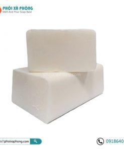 Combo 1kg Phôi Xà Phòng Glycerin (0.5kg Trong suốt + 0.5Kg Trắng sữa)